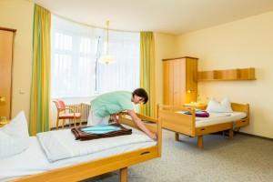 Klinik-Zweibettzimmer
